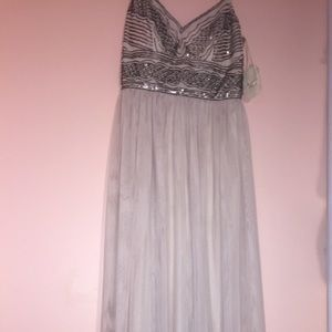NEW W TAGS Altard State beaded floor length dress